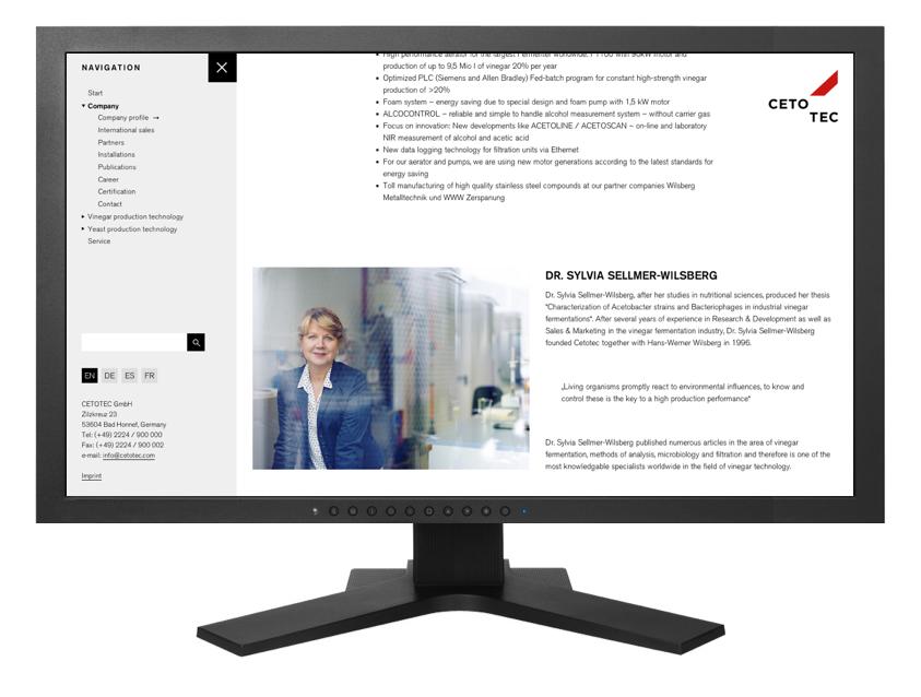 CETOTEC Website