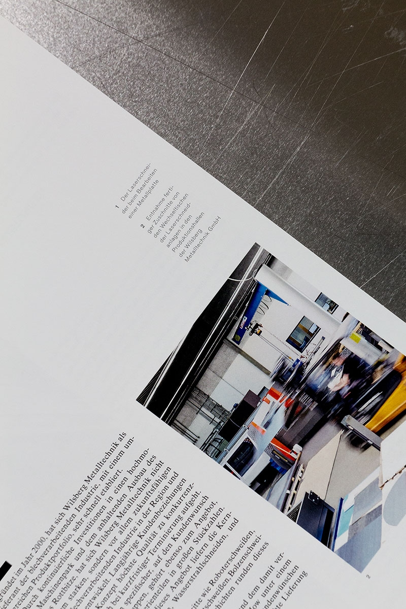 Wilsberg Metalltechnik Faltblatt