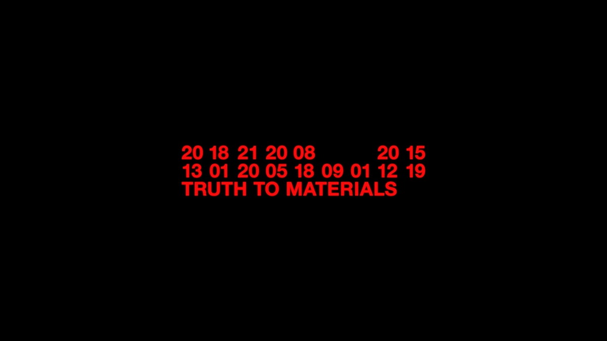 NEW TENDENCY – Truth to Materials
